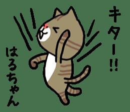 Haruchan cat sticker #12565795