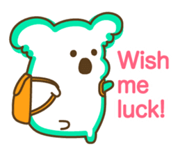 Baby Koala's Daily Life [English] sticker #12566458