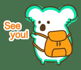 Baby Koala's Daily Life [English] sticker #12566459