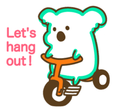 Baby Koala's Daily Life [English] sticker #12566460