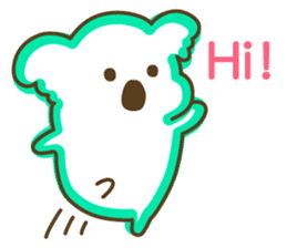 Baby Koala's Daily Life [English] sticker #12566462