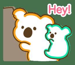 Baby Koala's Daily Life [English] sticker #12566474