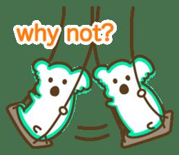 Baby Koala's Daily Life [English] sticker #12566477