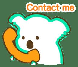 Baby Koala's Daily Life [English] sticker #12566479