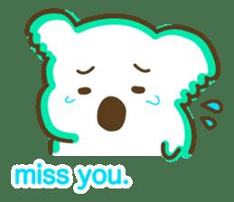 Baby Koala's Daily Life [English] sticker #12566481