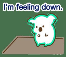 Baby Koala's Daily Life [English] sticker #12566483