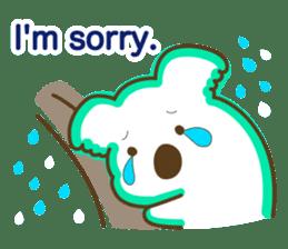 Baby Koala's Daily Life [English] sticker #12566485