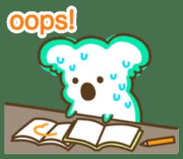 Baby Koala's Daily Life [English] sticker #12566489