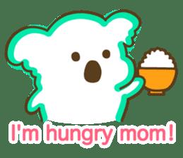 Baby Koala's Daily Life [English] sticker #12566490