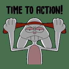 Thug Bunny sticker #12567320