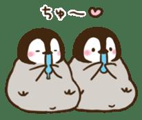 cute pengin3 sticker #12569613