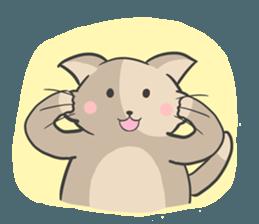 Rabbit and Cat in Love. + sticker #12587246