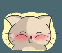 Rabbit and Cat in Love. + sticker #12587259