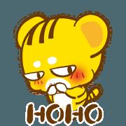 สติ๊กเกอร์ไลน์ HOHO-- Just wiggle,Now!