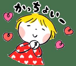 Good friends Sweetheart sticker #12591832