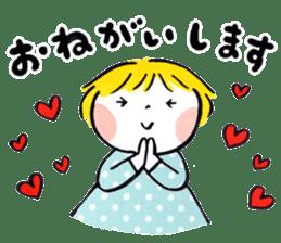 Good friends Sweetheart sticker #12591836