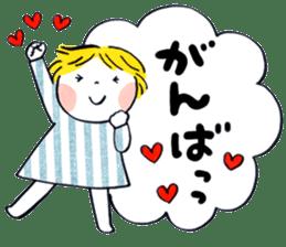 Good friends Sweetheart sticker #12591839