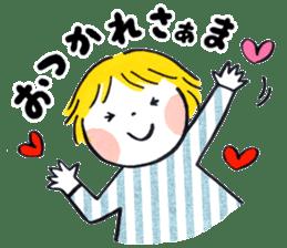 Good friends Sweetheart sticker #12591840