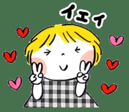 Good friends Sweetheart sticker #12591845