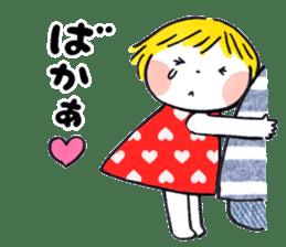 Good friends Sweetheart sticker #12591848
