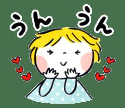 Good friends Sweetheart sticker #12591850