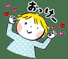 Good friends Sweetheart sticker #12591851