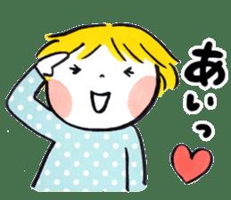 Good friends Sweetheart sticker #12591852