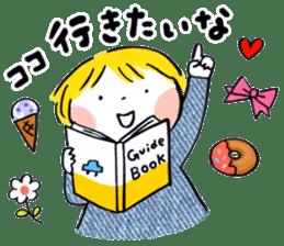Good friends Sweetheart sticker #12591855