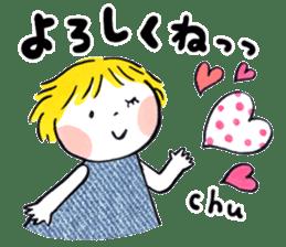 Good friends Sweetheart sticker #12591857
