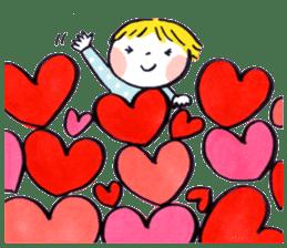 Good friends Sweetheart sticker #12591859