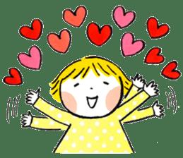 Good friends Sweetheart sticker #12591860