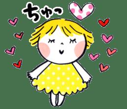 Good friends Sweetheart sticker #12591865