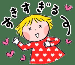Good friends Sweetheart sticker #12591866