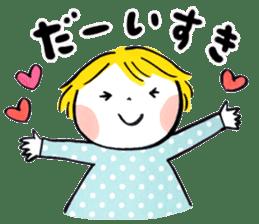 Good friends Sweetheart sticker #12591867