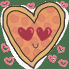 Pizza Doodle sticker #12596318