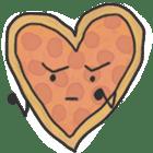 Pizza Doodle sticker #12596324