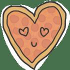 Pizza Doodle sticker #12596326