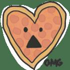 Pizza Doodle sticker #12596333