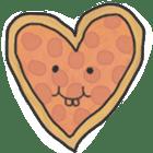 Pizza Doodle sticker #12596335