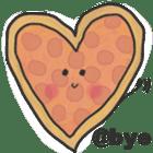 Pizza Doodle sticker #12596337
