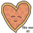 Pizza Doodle sticker #12596339