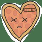 Pizza Doodle sticker #12596343