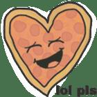 Pizza Doodle sticker #12596344