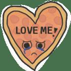 Pizza Doodle sticker #12596346