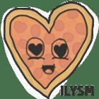 Pizza Doodle sticker #12596347