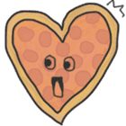 Pizza Doodle sticker #12596351