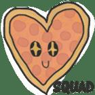 Pizza Doodle sticker #12596356