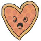 Pizza Doodle sticker #12596357