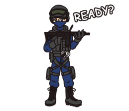 SWAT Codename 01 sticker #12597558