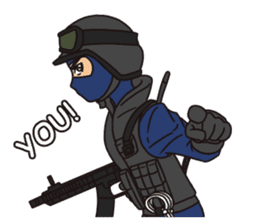 SWAT Codename 01 sticker #12597560